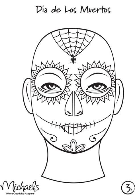 dia de los muertos skull template 1000 images about dia de los muertos patterns on