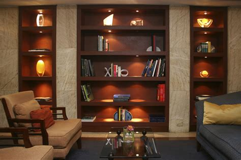 lights for bookcases lighting ideas for bookshelves