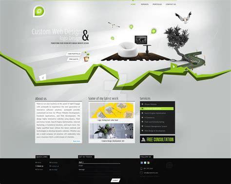 design net portfolio design by preet618 on deviantart