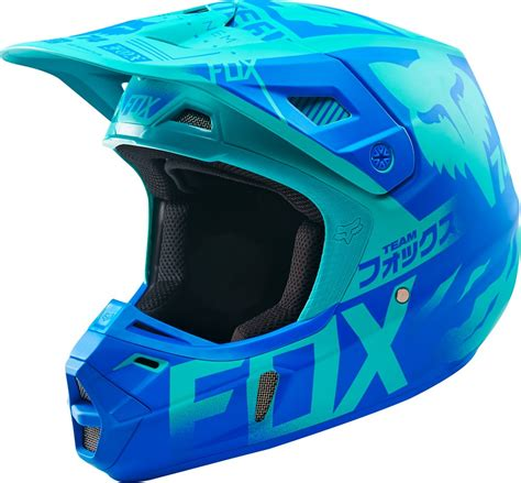 closeout motocross helmets fox racing limited edition v2 union dot mx motocross