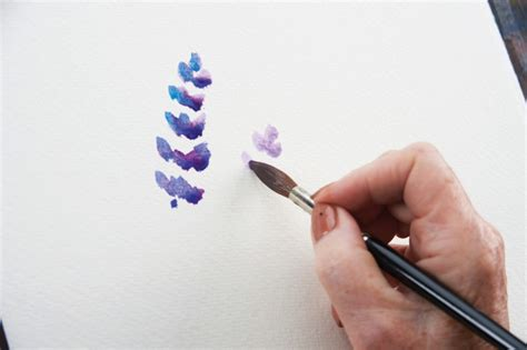 how to paint lavender painting 183 extract from jean haines paint