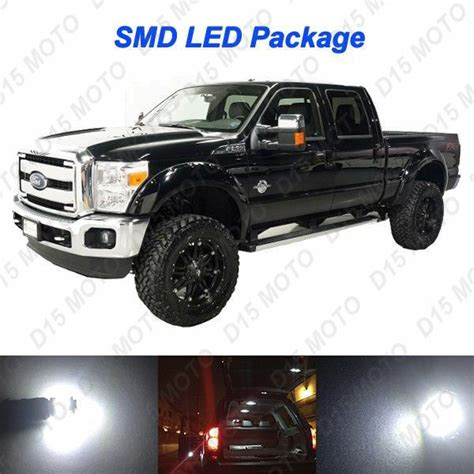 buy car manuals 1999 ford f250 interior lighting 18x ultra white interior led bulbs reverse tag lights for 2008 2016 ford f250 ebay