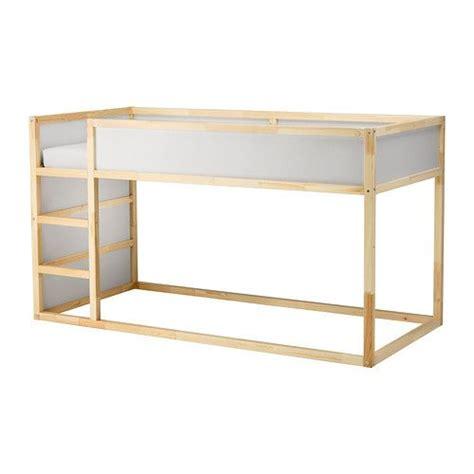 Ikea Pine Bunk Bed Kura Reversible Bed White Pine Low Bunk Beds Mattress And Pine