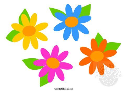 fiori disegni colorati fiori colorati tuttodisegni