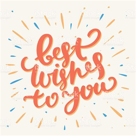 best wishes in best wishes card stock vector more images of banner