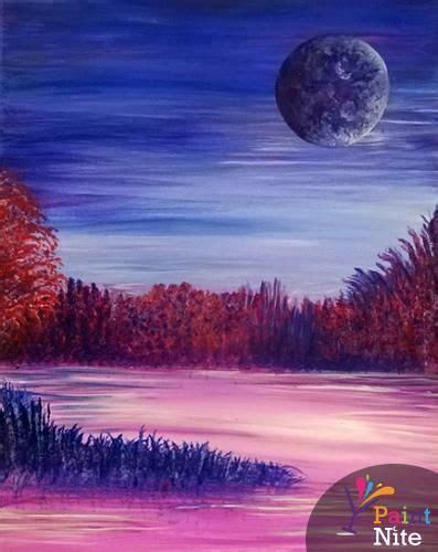 paint nite woodbridge 451 best landscapes images on paint