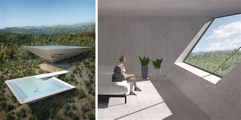 tna reveals inverted pyramid design for solo house in matarra a spain tna reveals inverted pyramid design for solo house in