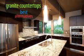 Alternatives To Marble Countertops by Top Kitchen Countertop Materials