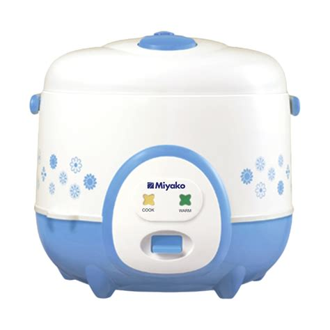 Rice Cooker Miyako 1 8 Liter miyako mcm 686 a magic 1 8 ltr anti penyok harga bjm