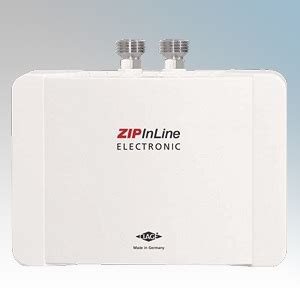 Zip Es3 Electric Water Heater 2 8kw by Zip Es3 Inline Es White Compact Electronic Instantaneous