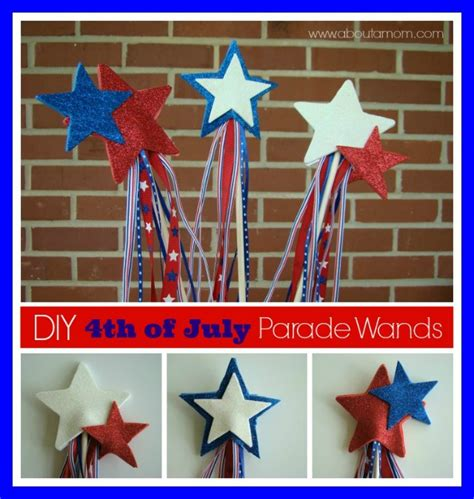 4th of july crafts for parade wand 4th of july craft for about a