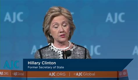 hillary clinton address chappaqua american jewish committee still4hill