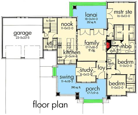 house plan pictures 3 bedroom house plan with swing porch 16887wg