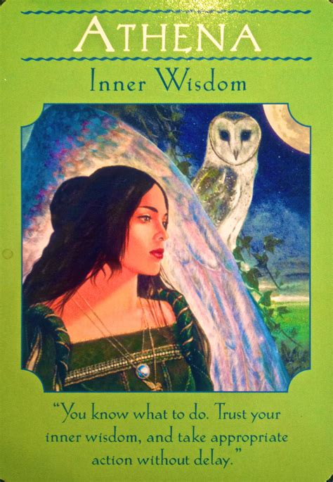 your inner goddess cards an oracle to express your feminine spirit books daily oracle card from the goddess guidance oracle
