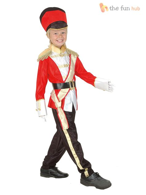 boys queens royal guard toy soldier nutcracker costume