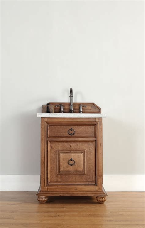26 inch single sink bathroom vanity with top