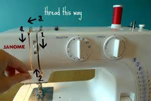 how to use a needle on a sewing machine how to thread a sewing machine learn threading a sewing