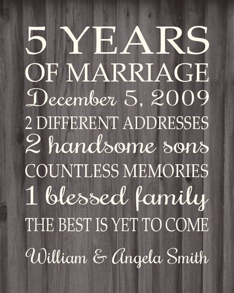 Wedding Anniversary Message 5 Years by 5 Year Anniversary Pictures Wedding Gallery