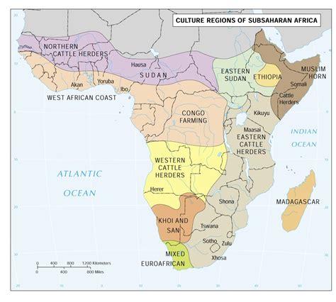 map of sub saharan africa culture areas of sub saharan africa africa