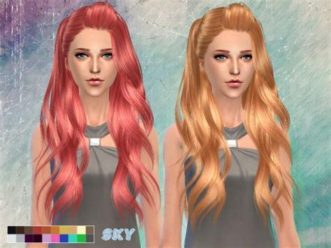 sims 4 hair the sims resource the sims resource skysims hair 262 sims 4 downloads