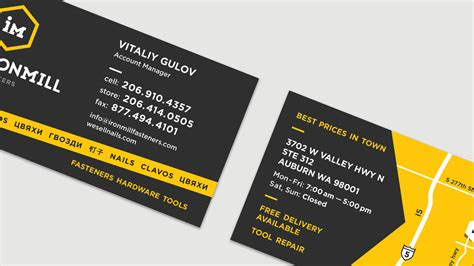hardware store business card template business cards for hardware store gallery card design