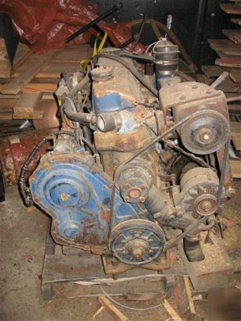 ford  cyl industrial diesel engine  runs good