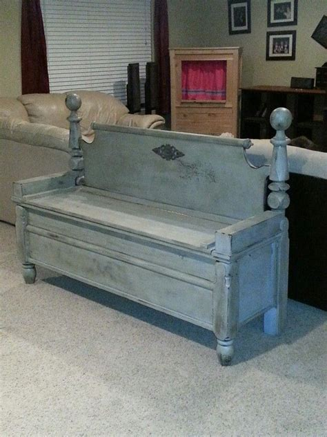 headboard bench with storage best 25 benches from headboards ideas on pinterest