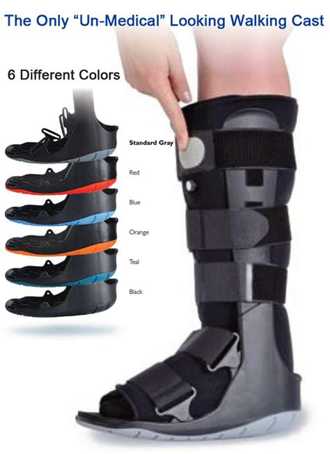 walking boot for broken foot ovation air walking cast boot choice of color
