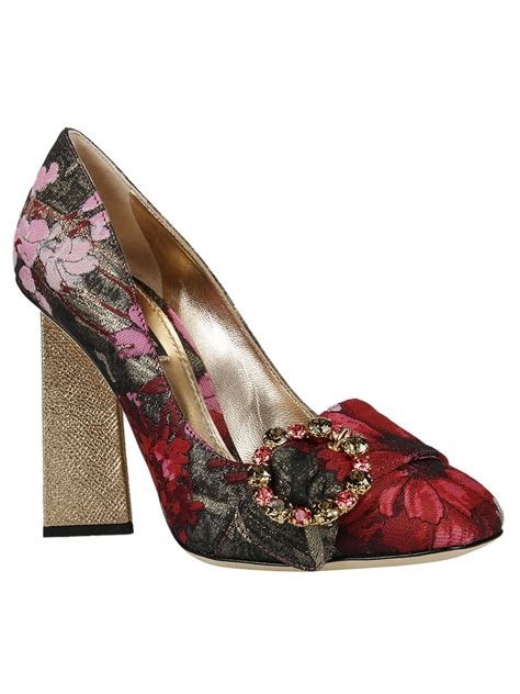 N6 Dolcee And Gabbana Shoes 600 1 03 dolce gabbana dolce gabbana jackie pumps ciliegia oro s high heeled shoes italist