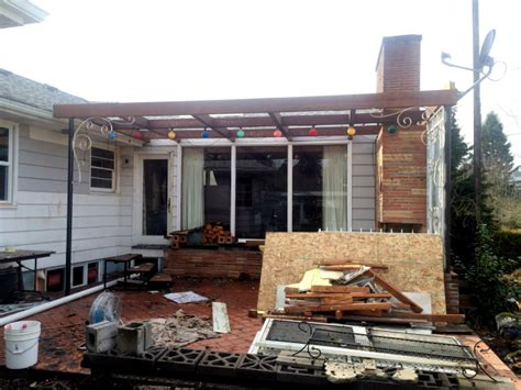 patio renovation covered patio renovation hoardingwoes you