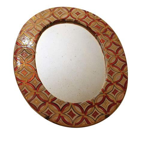 cornice decorata specchio con cornice decorata iridescenze
