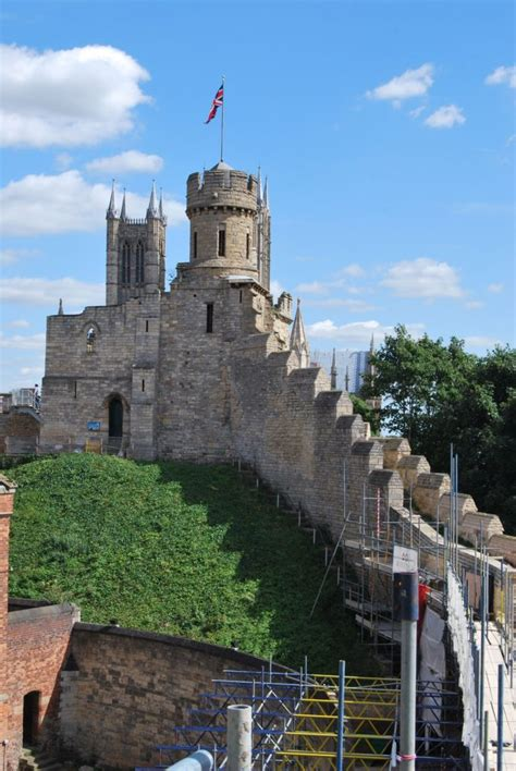lincoln castle uk conserving restoring lincoln castle walls by woodhead