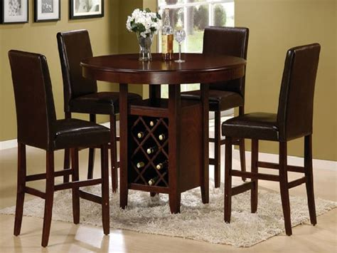 Dining Room Set High Tables High Top Kitchen Tables Traditional Dinette Design With 4 Pieces High Top Kitchen Table Sets