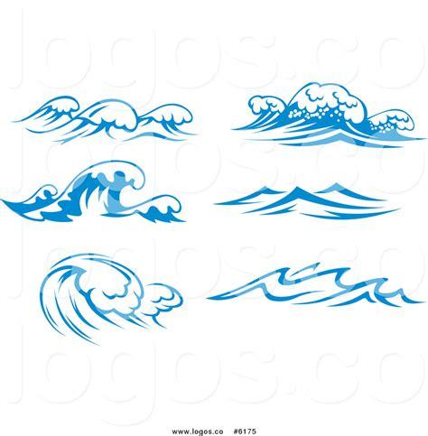 sea wave logos vector free stock vector royalty free wave stock logo designs