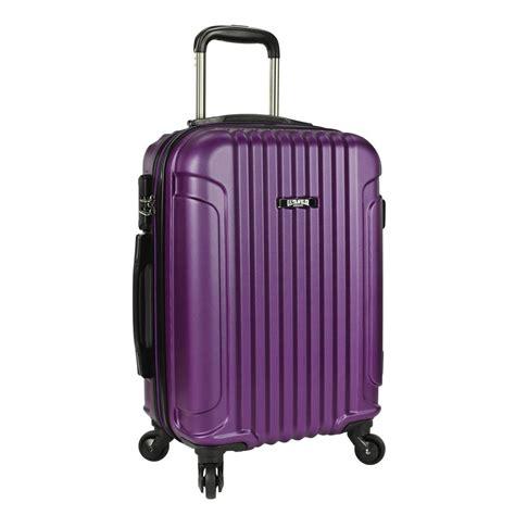 u s traveler akron 21 in hardside spinner luggage