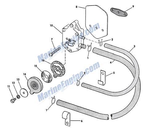 evinrude 15 hp fuel diagram evinrude fuel and filter parts for 1965 40hp