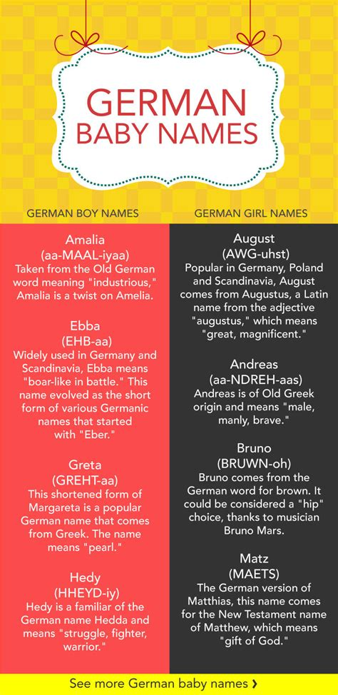 german names 18 german baby names care community