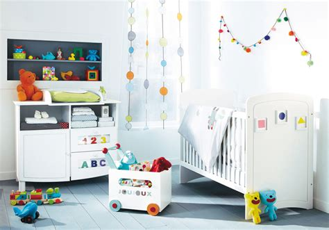 Modern White And Colorful Accents Baby Room Ideas Modern Nursery Decor Ideas