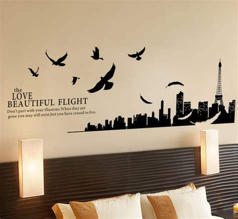 wall sticker design wall decal awesome decals wall ideas eiffel tower wall decals wall decals