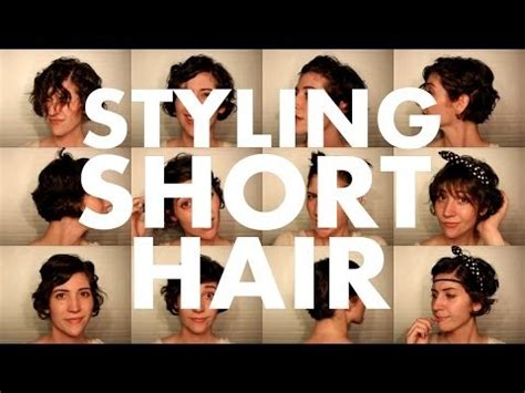 how to style your hair while a pixie grows out 10 hairstyles for a growing pixie cut youtube