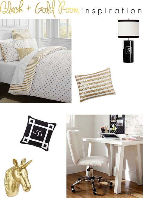 Gold Room Decor Black And Gold Room Inspiration The Southern Thing