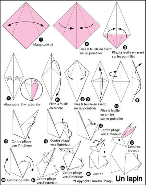 3d origami hase die besten 25 3d origami anleitung hase ideen auf