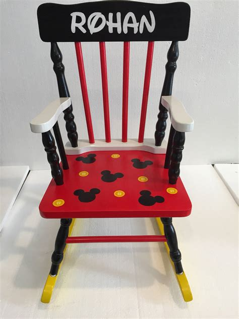 mickey mouse mickey mouse rocking chair mickey mouse
