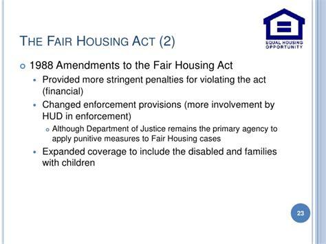 fair housing amendments act of 1988 fair housing amendments act of 1988 28 images fair