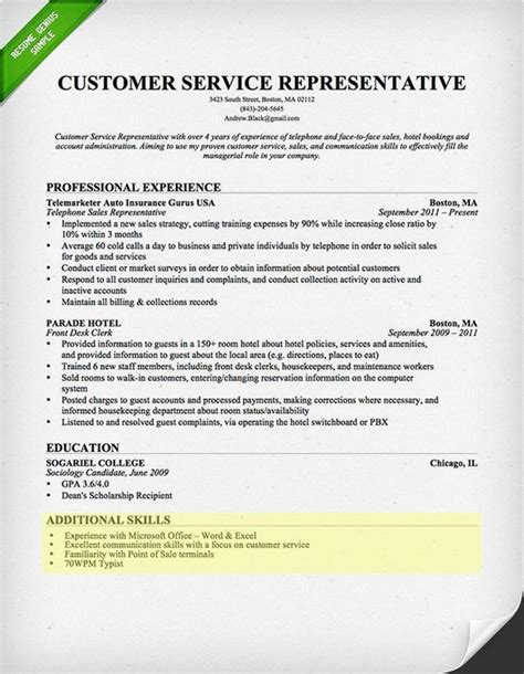 section 8 customer service customer service writing and resume on pinterest
