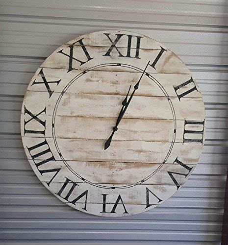 16 vintage style distressed black metal and wooden clock wall hanging decor home accent rustic