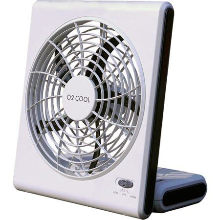 big battery operated fan o2 cool 8 quot battery or electric portable fan walmart com