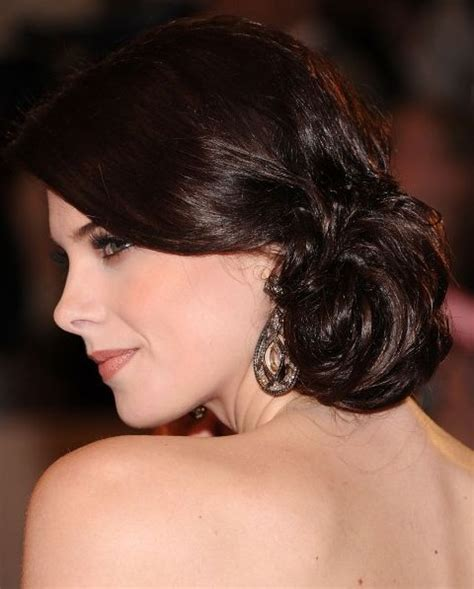 dinner hairstyle for square face ashley greene updo hairstyle low bun pretty designs