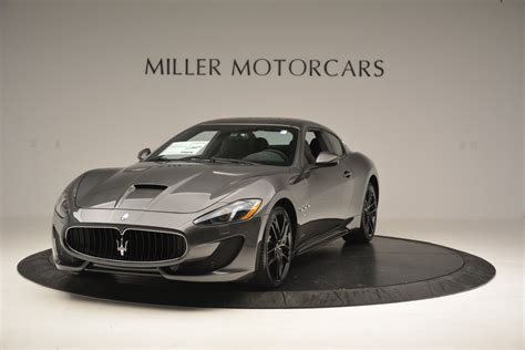maserati 2017 granturismo used 2017 maserati granturismo gt sport special edition
