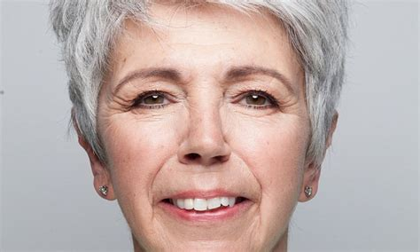 tattoo eyebrows grey elsa mcalonan shows you make up that goes with grey hair
